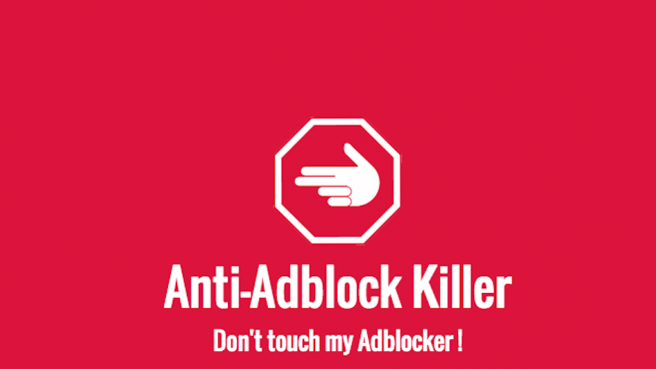 Anti Ad Blocker Ads