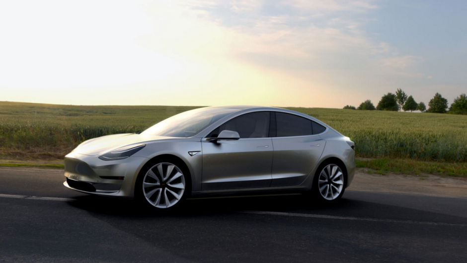Tesla Unveils Model 3 With Autopilot Feature besides Teslas Model Y Suv To Be Unveiled This Year as well Tesla Roadster 2 Unveiled Hardcore Smackdown To Gasoline Cars moreover Tesla Semi Truck Due Arrive September Seriously Next Level as well 2017 Tesla Model 3 Set To Be Unveiled Next Year. on 2017 tesla model 3 electric car unveiled