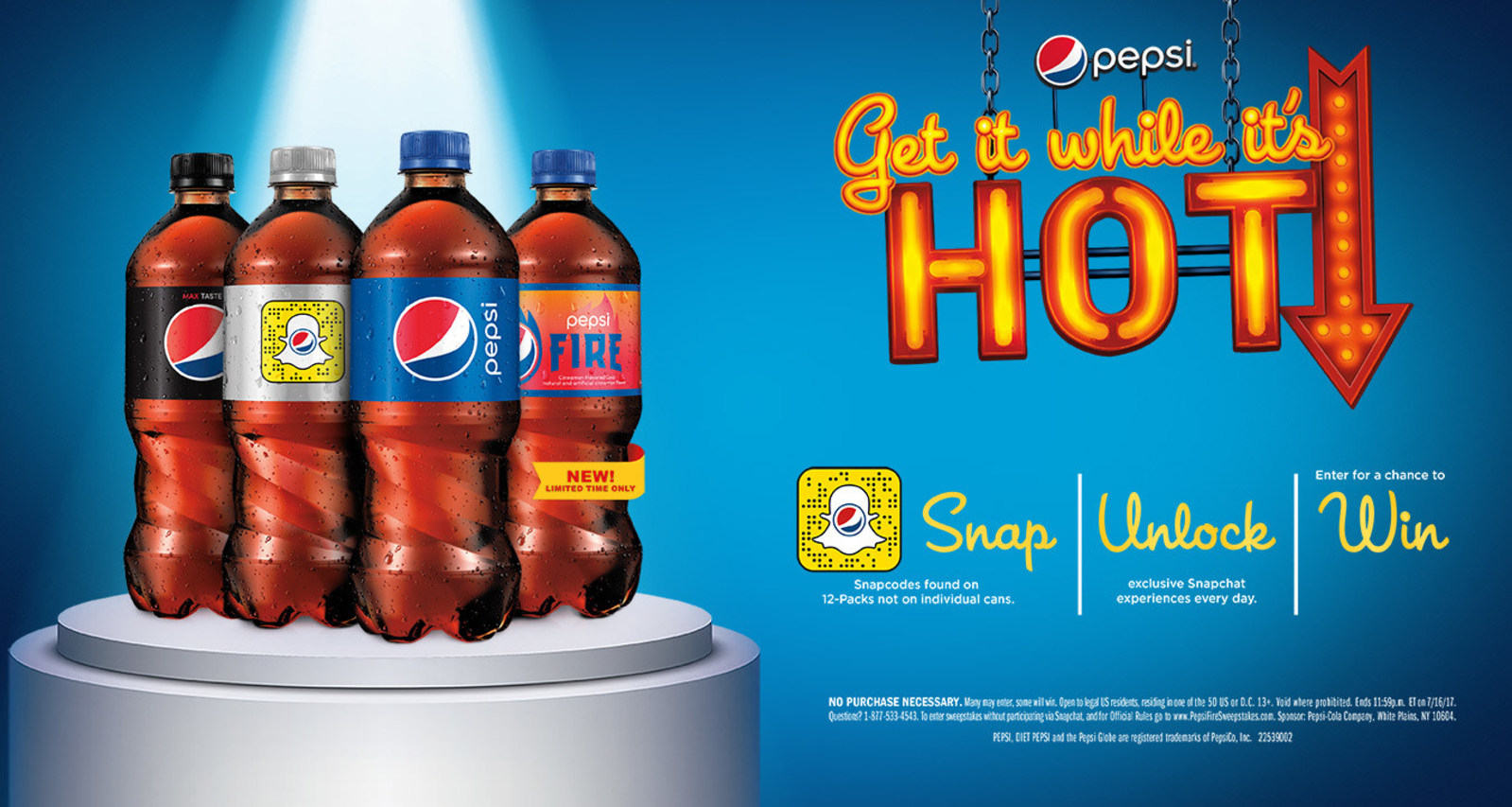 Pepsi Puts Snapcodes On Bottles To Engage Fans With Filters, Games