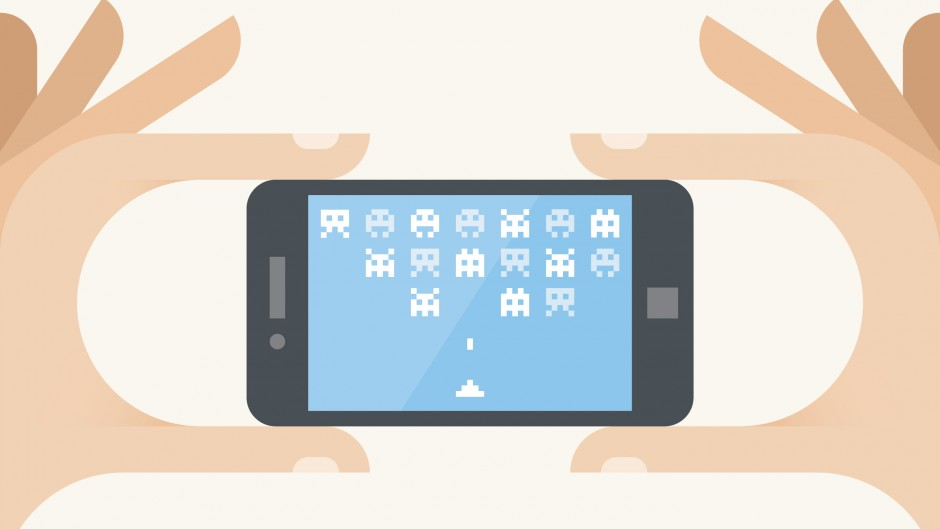 Mobile games - iStock_000046505720_Illustration