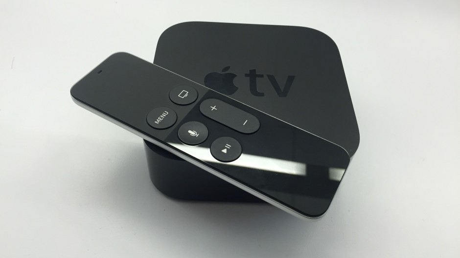 The new apple tv set-top box