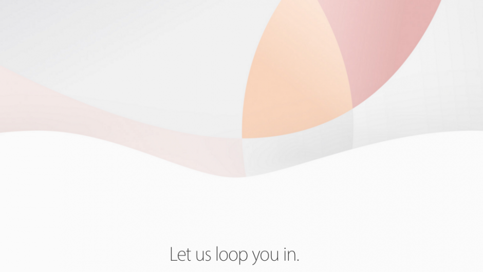 Apple event - March 2016