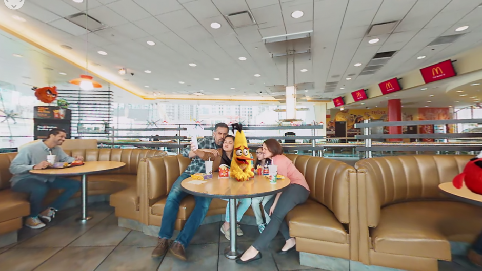 mcDonald's VR  - Angry Birds