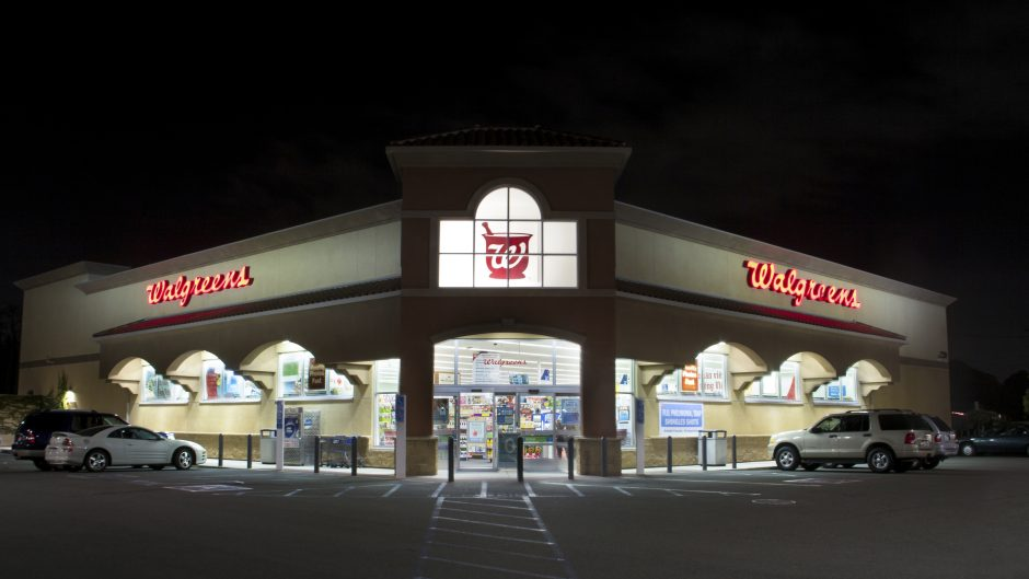 Westminster, United States - November 10, 2014: Walgreens store exterior. The Walgreen Company is the largest drug retailing chain in the United States.