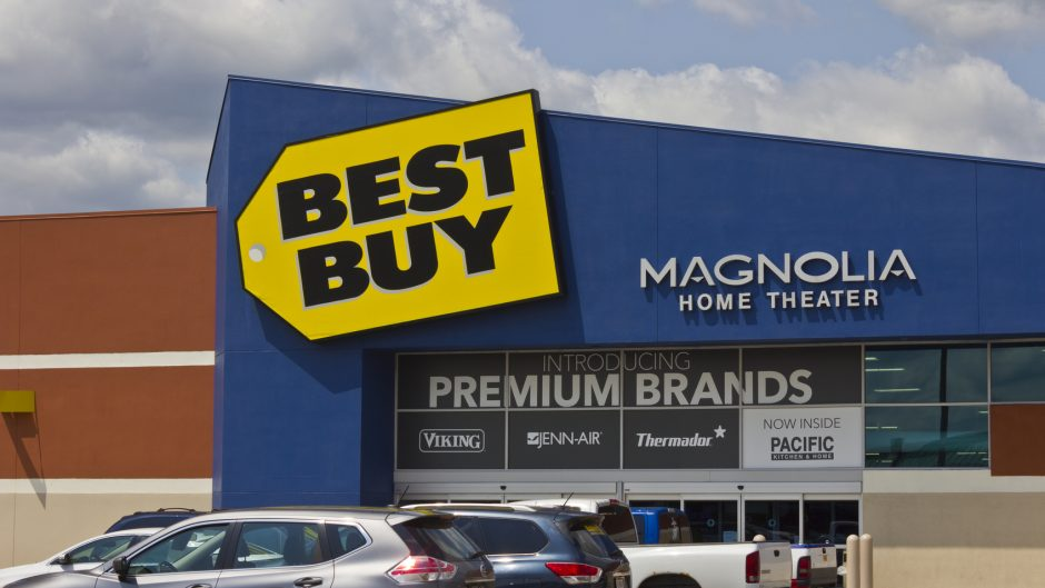 Indianapolis, US - May 15, 2016: Best Buy Retail Location. Best Buy: Expert Service. Unbeatable Price II