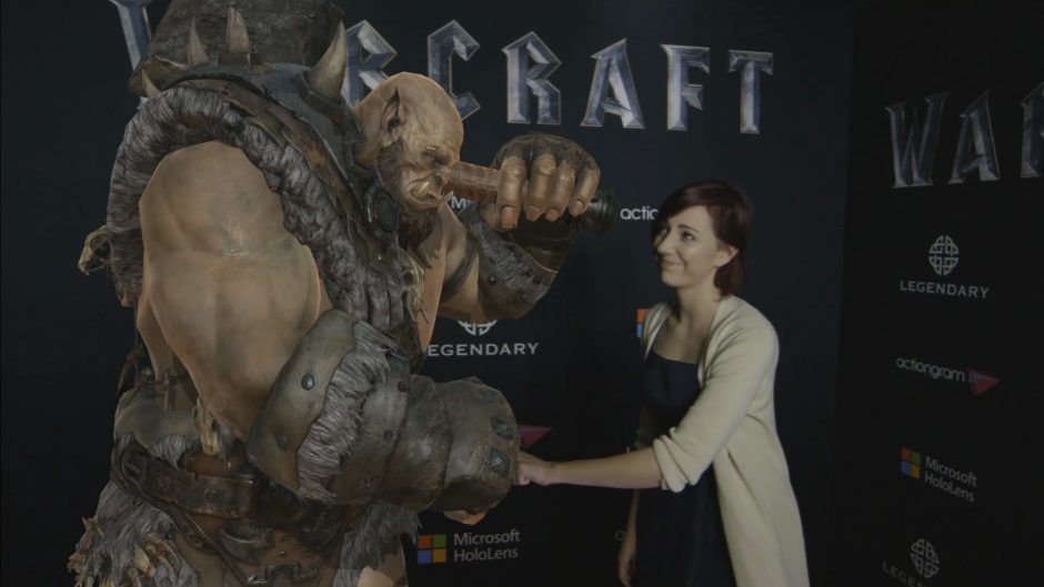 Legendary Partners With Microsoft To Create Holograms Of Warcraft Characters